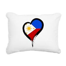 Heart Nation 08 Rectangular Canvas Pillow