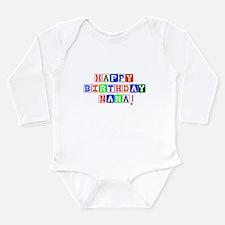 Happy Birthday Nana Body Suit