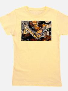 Monarch Butterflies 1 Girl's Tee