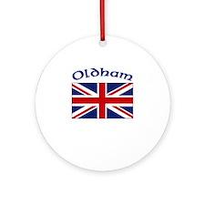 Oldham, England Ornament (Round)