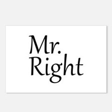 Mr. Right Postcards (Package of 8)