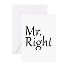 Mr. Right Greeting Cards (Pk of 20)