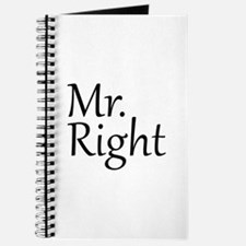 Mr. Right Journal