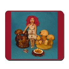 Amber Faerie Doll Mousepad