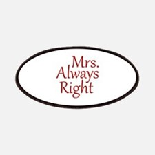 Mrs. Always Right Patches