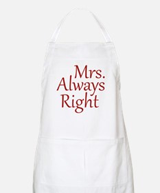Mrs. Always Right Apron