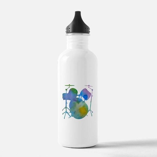 Drums Sports Water Bottle