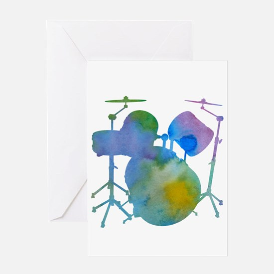 Drums Greeting Cards