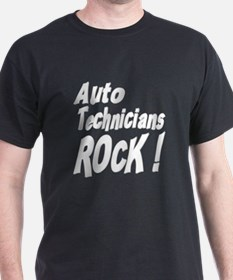 Auto Techs Rock ! T-Shirt