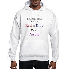 Episco-Purple Jumper Hoody