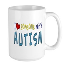 I love someone with Autism Mugs