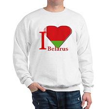 I love Belarus Sweatshirt