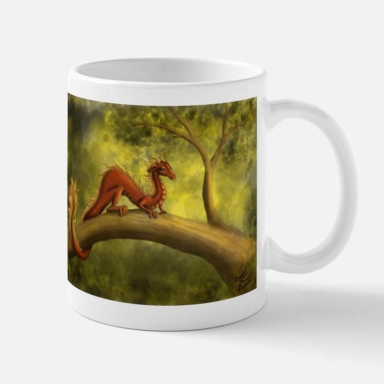 Tree Dragon Mugs