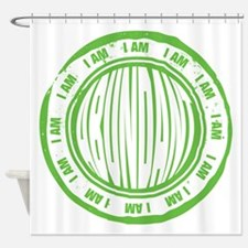 I AM Abundant Shower Curtain
