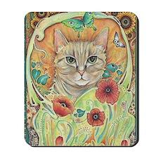 Poppy Cat Mousepad