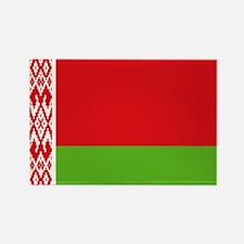 Belarus flag Rectangle Magnet