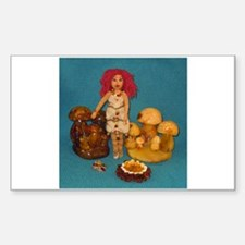 Amber Faerie Doll Decal