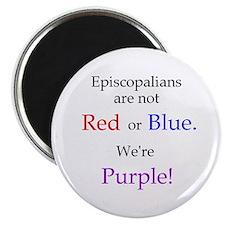 Episco-Purple Magnet