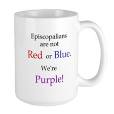 Episco-Purple Mug