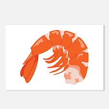 Shrimp Postcards (Package of 8)
