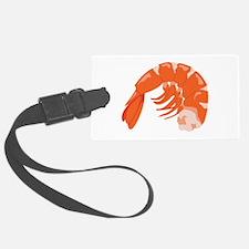 Shrimp Luggage Tag
