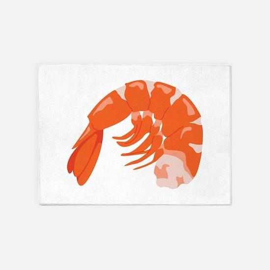 Shrimp 5'x7'Area Rug