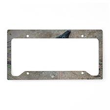Black-necked Stilt Bird License Plate Holder