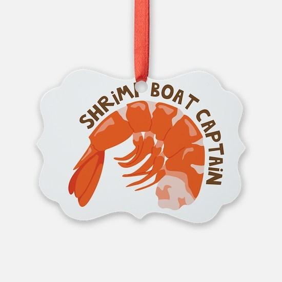 Shrimp Boat Captain Ornament