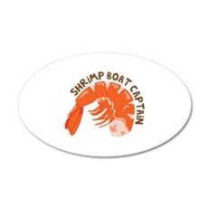 Shrimp Boat Captain Wall Decal