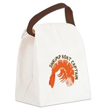 Shrimp Boat Captain Canvas Lunch Bag