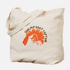Shrimp Boat Captain Tote Bag
