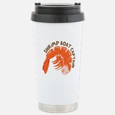 Shrimp Boat Captain Travel Mug