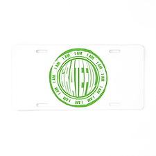 I AM Grateful Aluminum License Plate