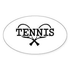 Tennis rackets Decal