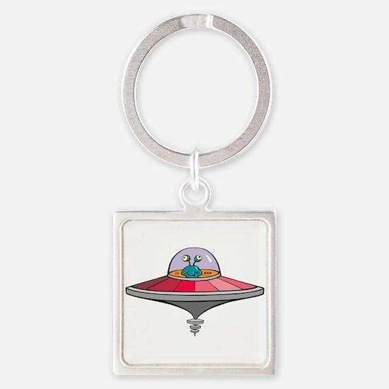 Alien Saucer Keychains