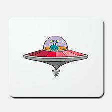 Alien Saucer Mousepad