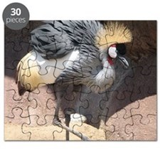 African Crowned Crane Puzzle