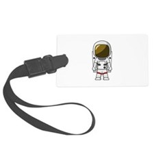 Astronaut Luggage Tag