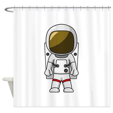 Astronaut Shower Curtain by HotTeesCafe