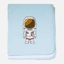 Astronaut baby blanket