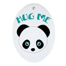 Hug Me Ornament (Oval)