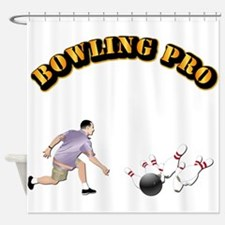 Sports - Bowling Pro Shower Curtain