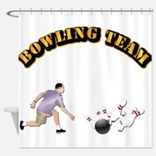 Sports - Bowling Team Shower Curtain