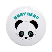 Baby Bear Ornament (Round)