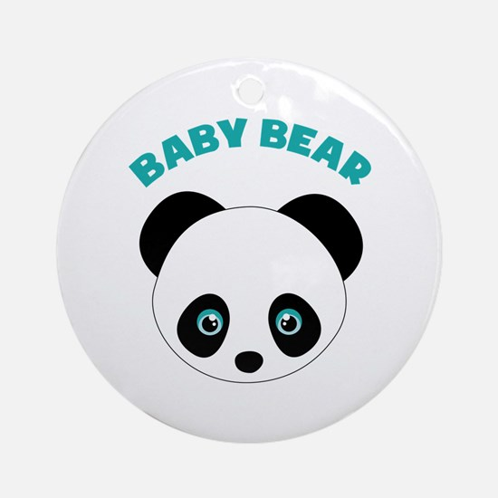 Baby Bear Ornament (Round)