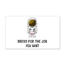 Astronaut Dress Wall Decal