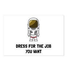 Astronaut Dress Postcards (Package of 8)
