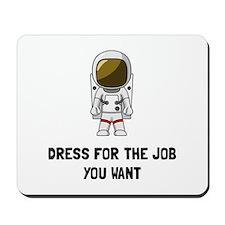 Astronaut Dress Mousepad