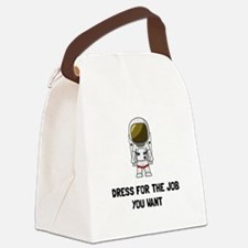Astronaut Dress Canvas Lunch Bag