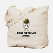 Astronaut Dress Tote Bag